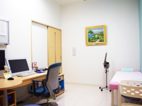 内科診察室の写真
